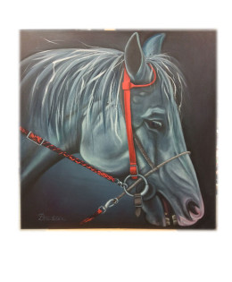 Cheval gris