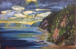 Pieds de vent sur le Saguenay